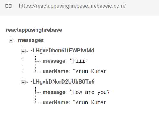 ReactNative Working With Firebase Using ChatApp Example